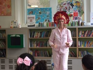 Queens Park Library, Elephant Storytelling Time